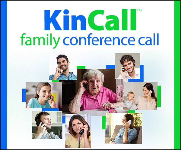 KinCall Conferencing Service Helps Families Stay Connected During a Health Crisis